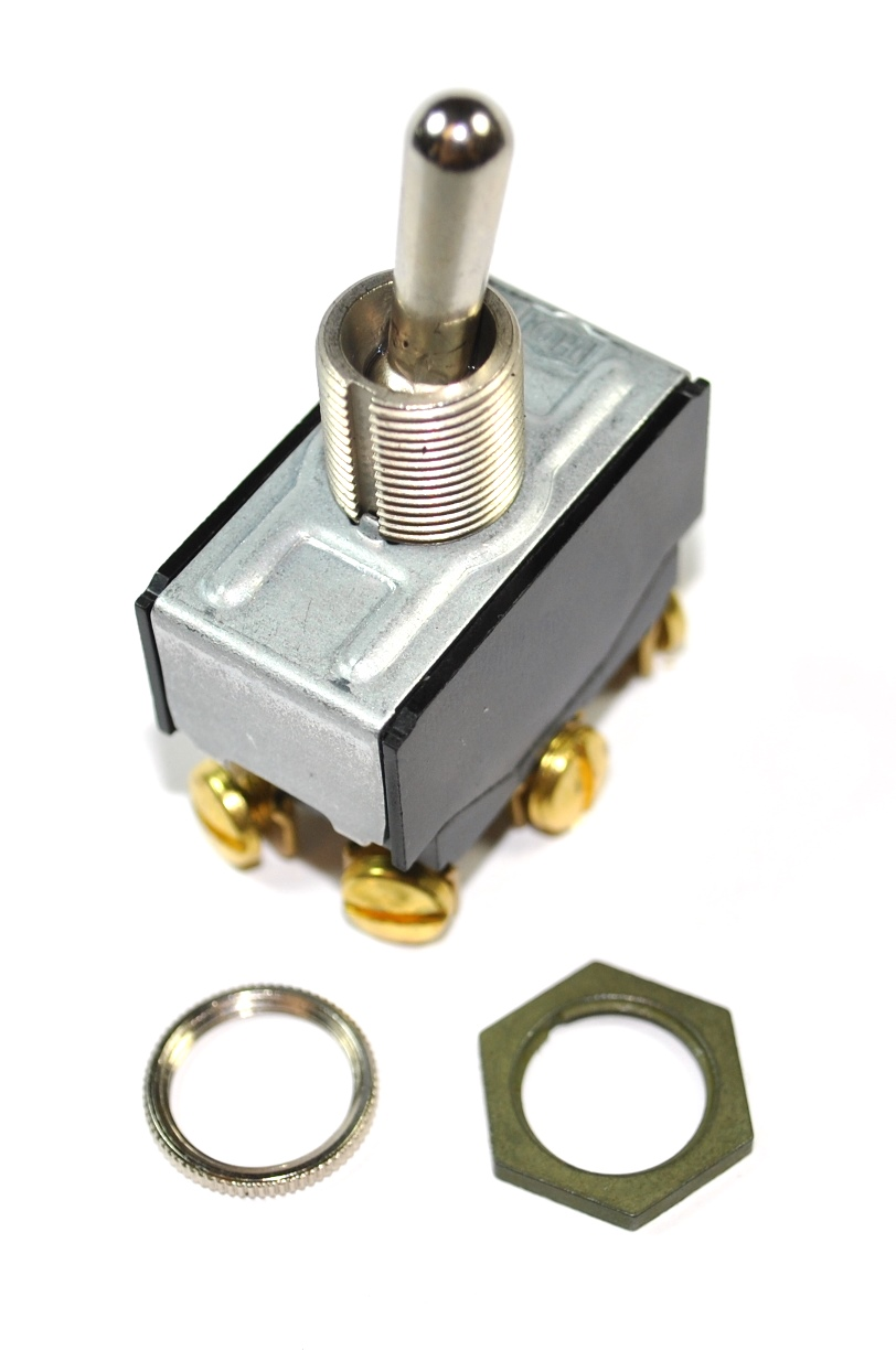 Piece Counter Toggle Switch for Amada HA250 saws using Rack & Pawl Vises